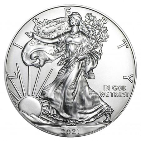 1 Oz 2021 American Eagle Silver Coin