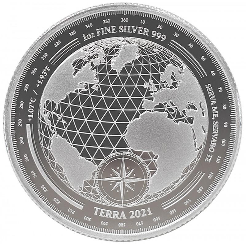 1 Oz 2021 Terra Silver Coin