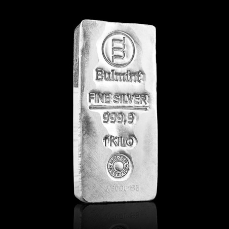 1 Kg Bulmint Silver Bar 999.9