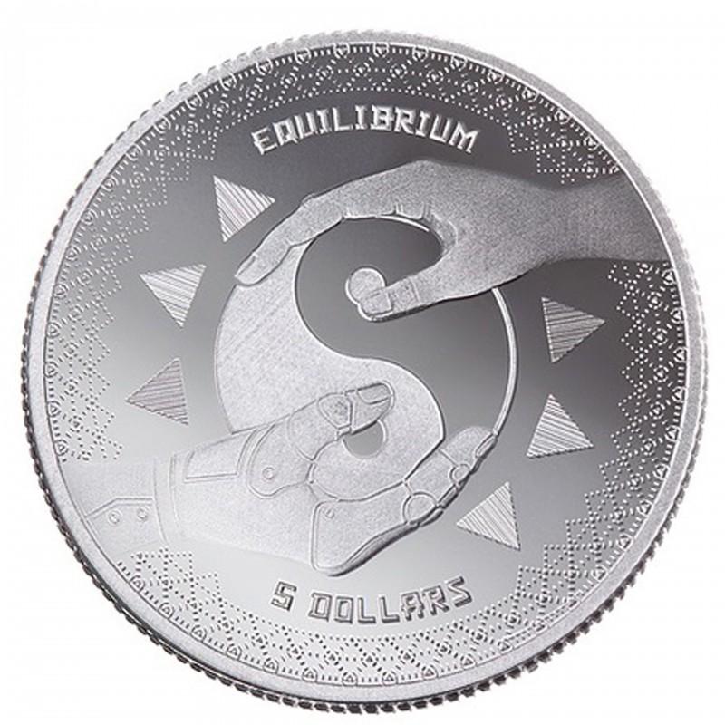 1 Oz Equilibrium 2020 Silver Coin