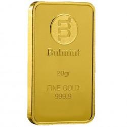 20 Grams Bulmint Gold Bar 999.9