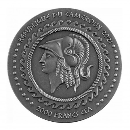 2 Oz 2021 Alexander The Great – Gordian Knot Silver Coin