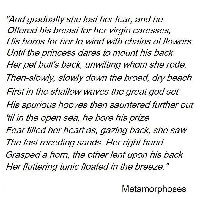 metamorphoses citation